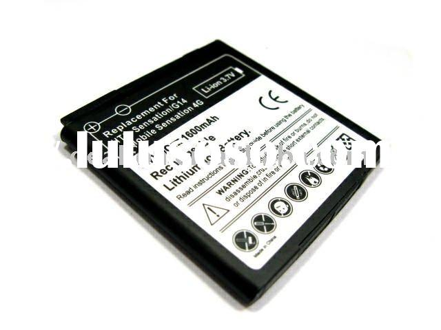 1600mAh cell phone battery for HTC Sensation 4G