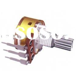 16mm linear potentiometer with switch