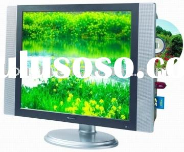 "19""TFT LCD TV with DVD Slot-in support USB ,SD/MMC/MS card, used as monitor"