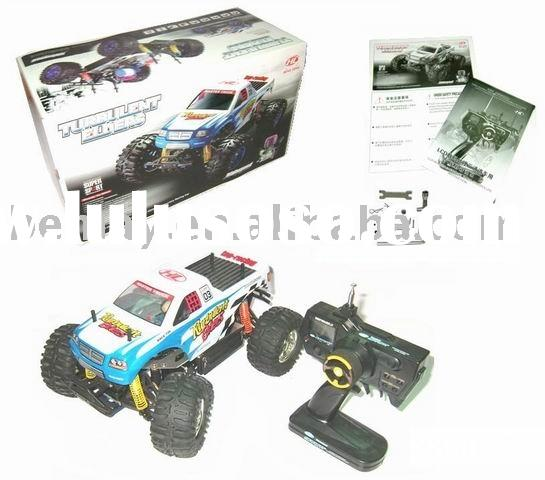 1:10 Radio Remote Control R/C Gas Pick-Up Monster Truck Off Road Rally Car 153628