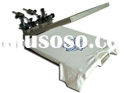 1 color table top screen printing machine with micro registration