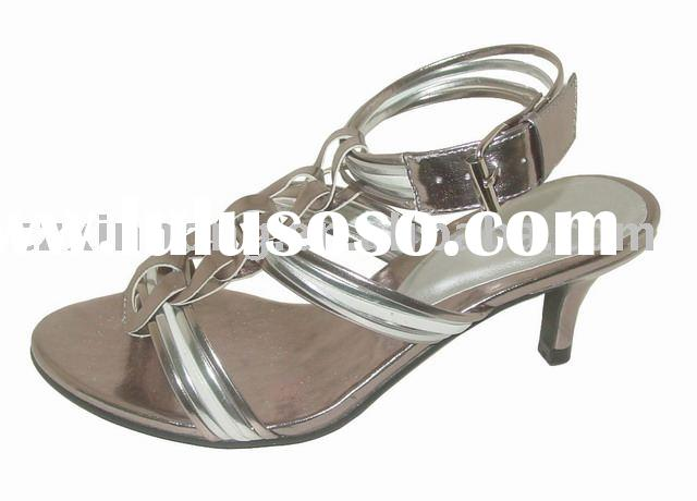 2010 ladies's summer sandal ,fashion high heel shoes, ladies' sandal , hot sale wome