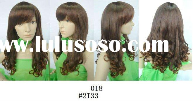 2011BEST SELLER IN KOREAN!!! fashion style synthetic hair wigs