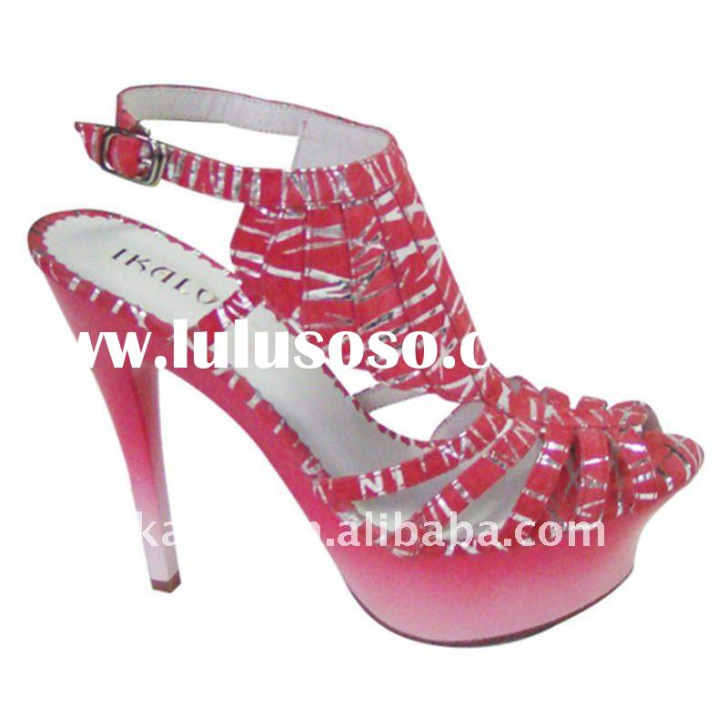 2011 Fashion Summer High heel shoes Woman