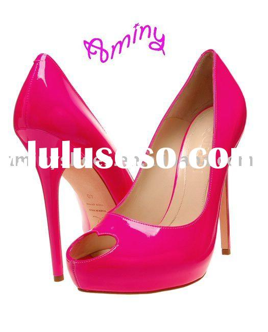 2011 Fashion and classic leather women shoes