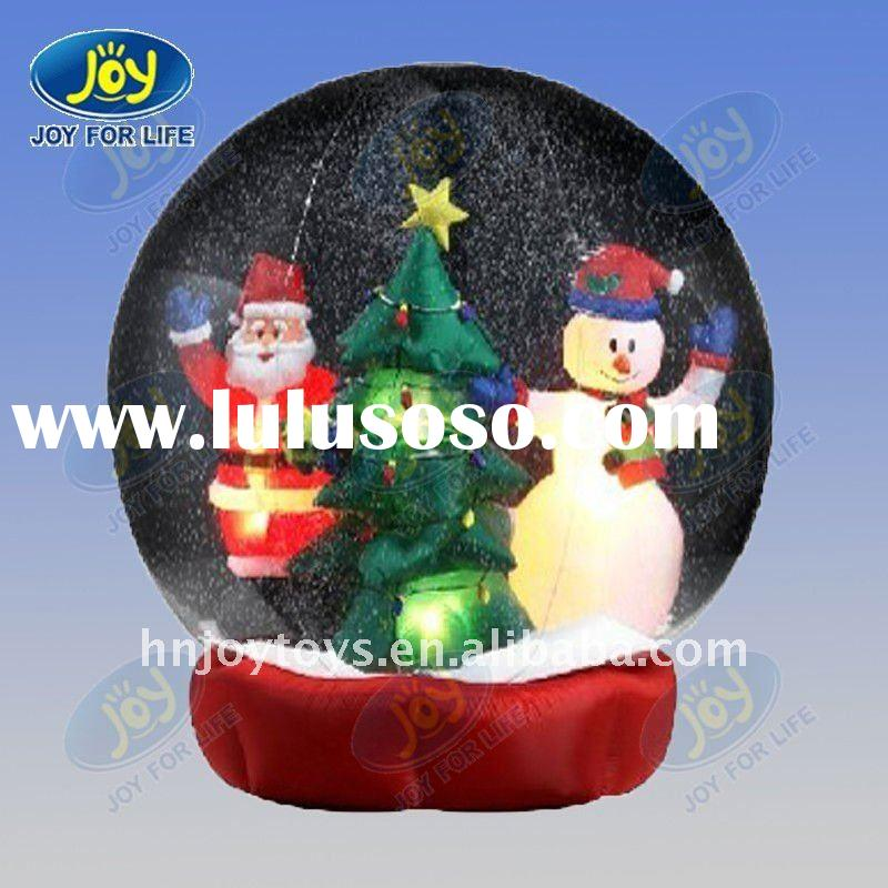 Inflatable christmas snow globe inflatable christmas snow globe