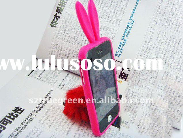 2011 New Popular Rabbit silicone Case for iPhone 3G /3GS