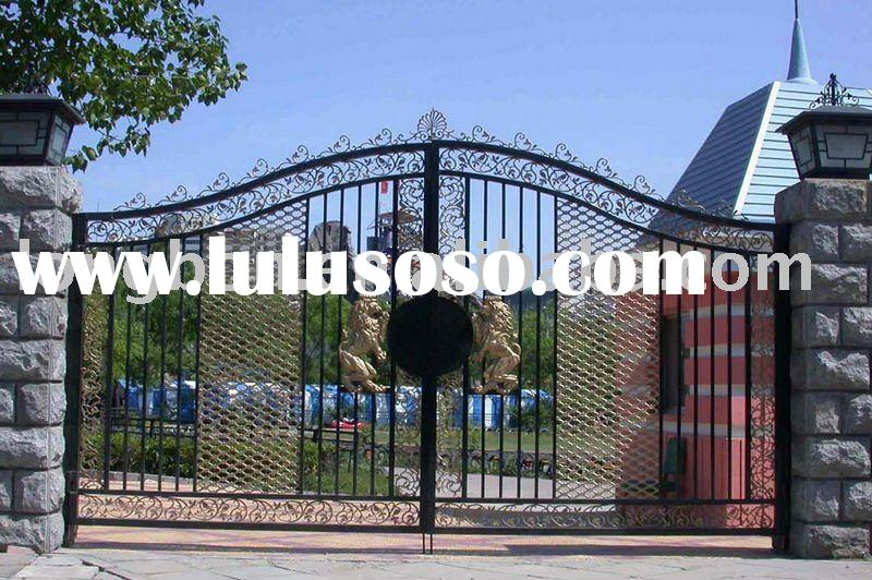 wrought iron garden gate designs, wrought iron garden gate designs ...