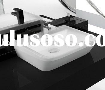 2011 fashion modern superior sanitary ware bathroom Counter wash basin,superior ceramic sink