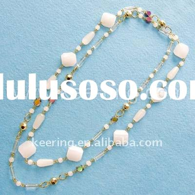 2011 new style beaded fashion necklace-WNK200