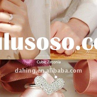 2011 newest diamond ring, fashion diamond ring