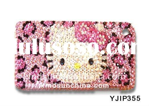 2012 Bling fancy cell phone cases for Iphone 4