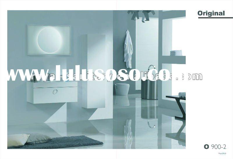 2012 NO 1 sell, mirror with light,modern Bathroom Furniture Set