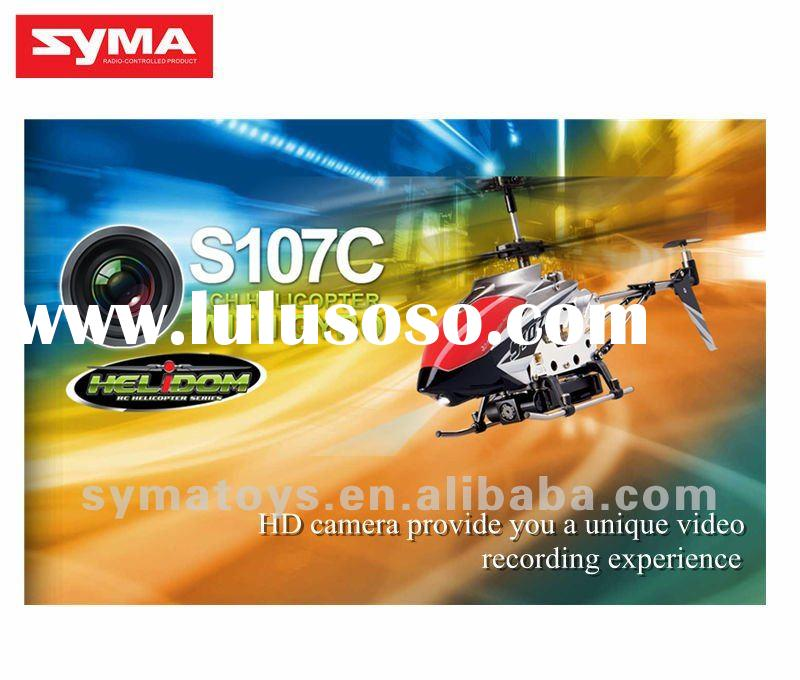 2012 New Syma S107C rc helicopter with camera ,airplane rc,3ch metal gyro helicopter