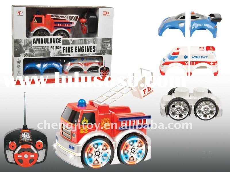 2012 New item 4ch kids toy car engine with light and music