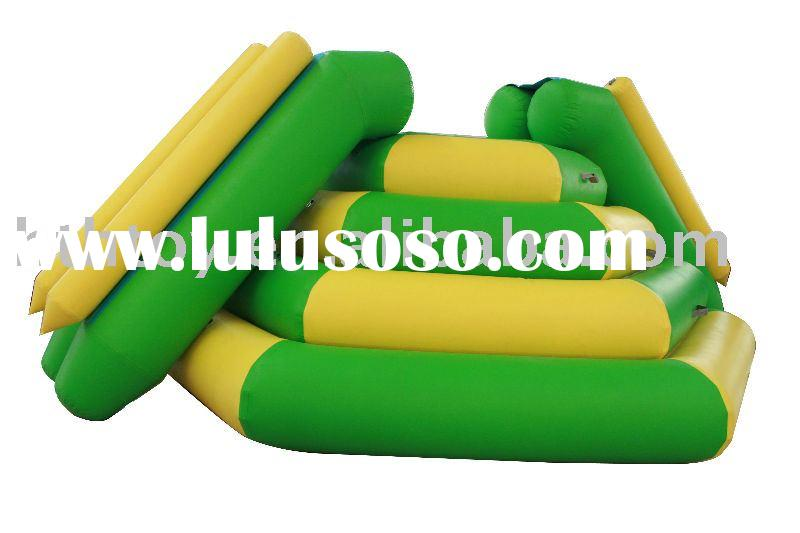 2012 exciting inflatable water slide for kids and adult