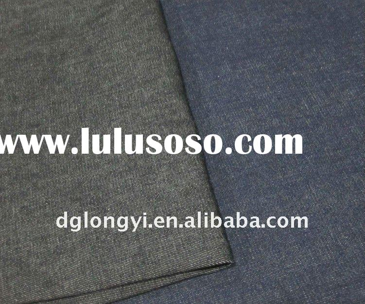 2012 fashion cotton spandex slub denim fabrics for women denim jeans