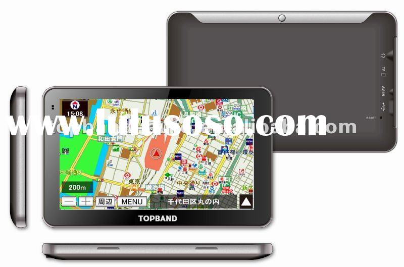 2012 latest popular portable gps with car dvd
