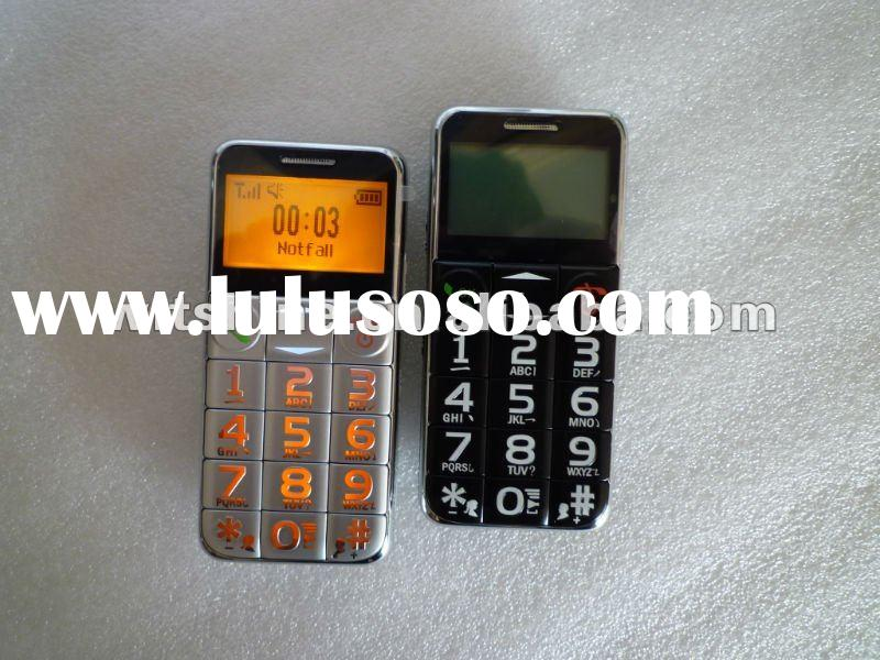 2012 new cell phone U520 Quad Band With Big Buttons SOS Function