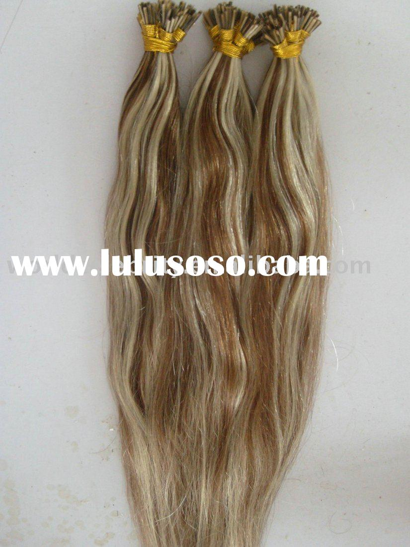 20 inch 4#613# top quality pre-bonded hair extention
