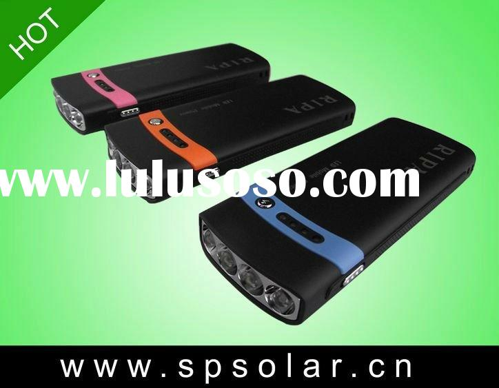 2600MAH Movable Solar Mobile Phone Battery Recharger For Cellphone,Camera,MP3,MP4