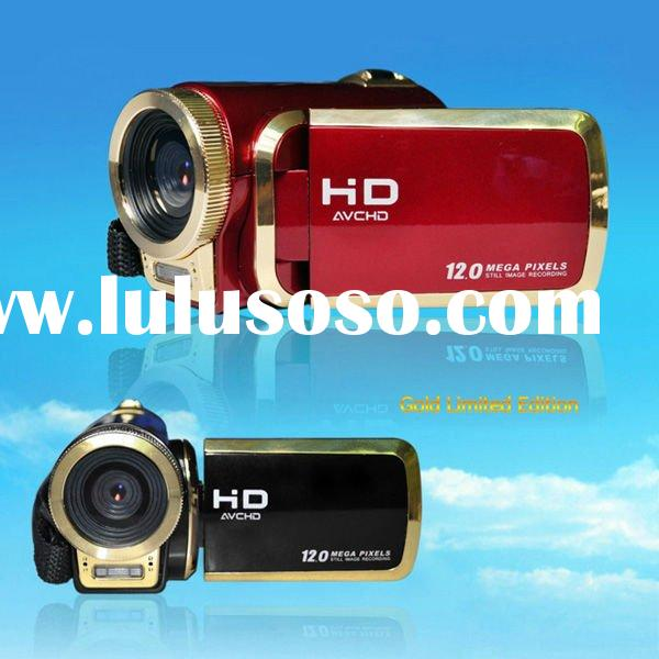 2.4 inch LCD display digital video camera with 12M pixel