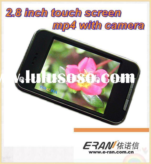 2.8 inch Touch Screen Mp4 player with Camera
