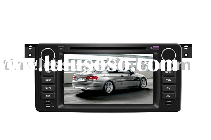 2 Din Car DVD Player for E46 with built-in GPS, Dual Zone,Digital Panel, RDS,Steering Wheel (TID-895