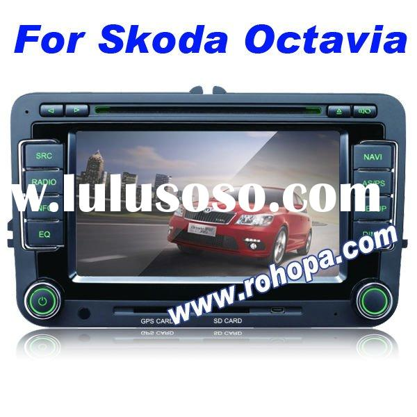2 din car dvd gps for skoda octavia