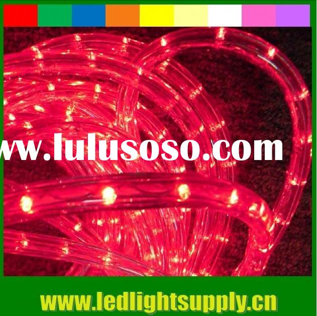 2 wire red 12v rope light rgb led rope lighting