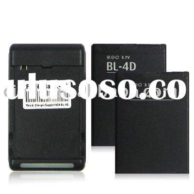 2x rechargeable Battery + wall charger For Nokia N8 new
