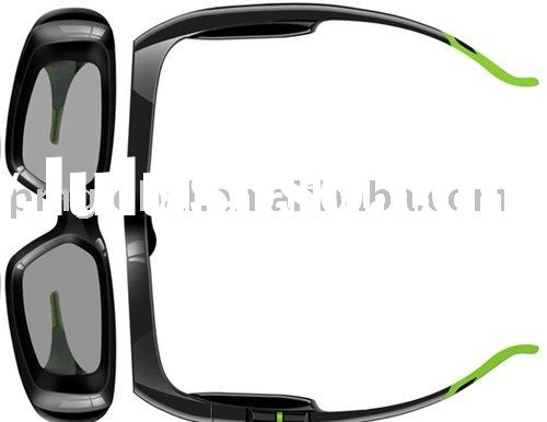 3D Glasses ( 3D Active Shutter Glass, High-speed liquid crystal style LCD display; HD013DmoGL )