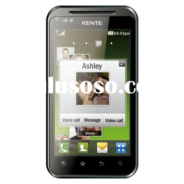 3G smartphone, Dual Sim Android GPS Mobile Phone, 4 inch capacitive touch screen, Dual Bluetooth, 5M