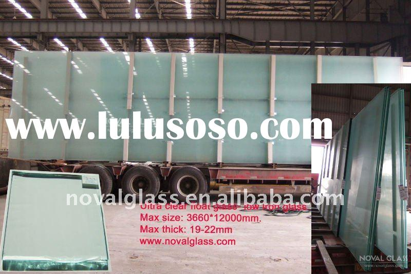 3-25mm Ultra clear glass,Extra clear float glass,Low iron float glass