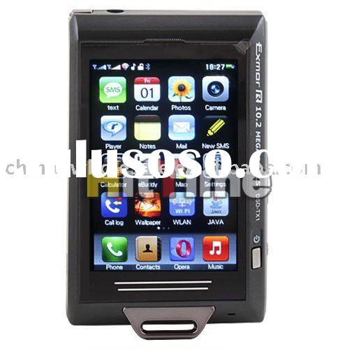 "3.2"" 10.2 MP Quad Band Dual Sim JAVA TV WIFI Cell Phone Free Air Mail ONLY Wholesale"
