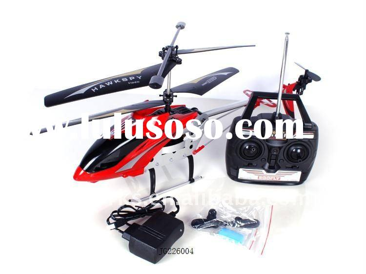 3.5CH RC helicopter with camera (red/black)
