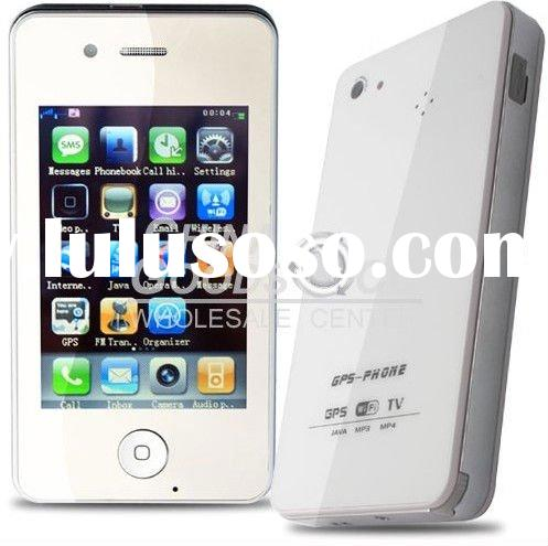 3.5 inch touch screen unlocked GPS WIFI TV dual sim dual standby mobile phone accept paypal