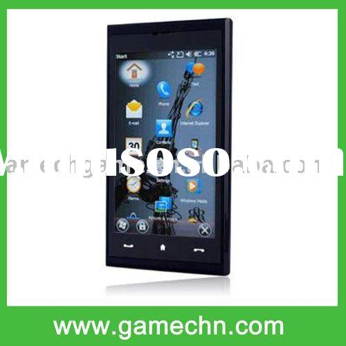 3.8 Touch Screen Quad Band WM 6.5 PDA GPS+WIFI Cell Phone --- Max 4G Without TF card
