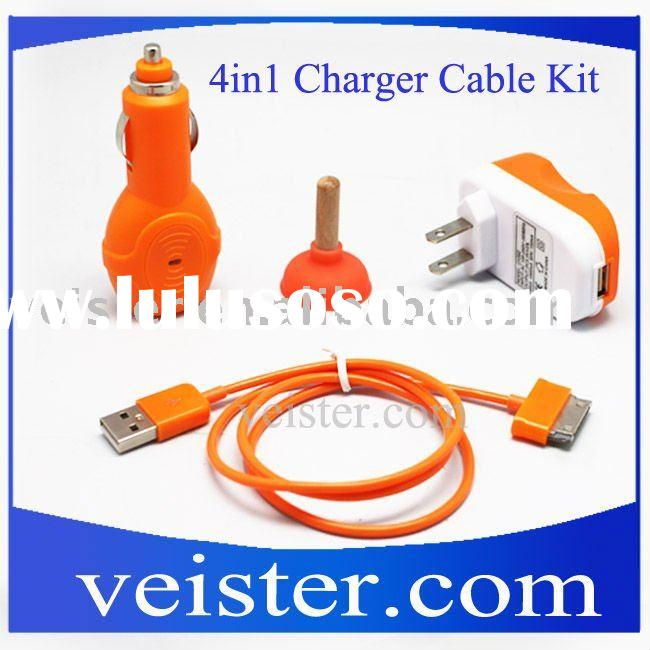 3 in 1 Charger Kit for iPhone 3G and iPod /Wall Car USB