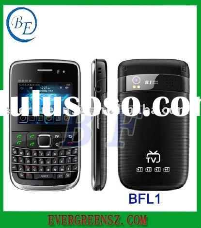 4 sim TV mobile phone with MTK6253 platform qwerty keyboard