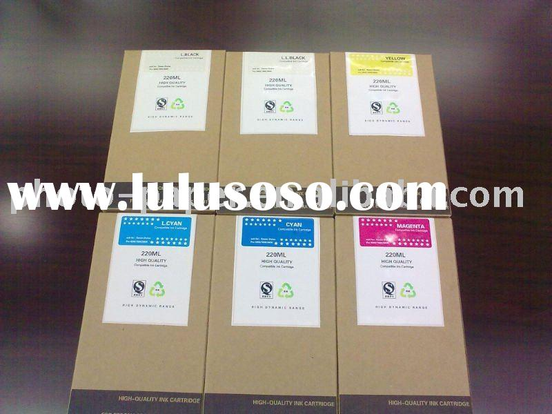 500ml compatible dye/pigment ink cartridge for Epson stylus pro 10000 large format printer