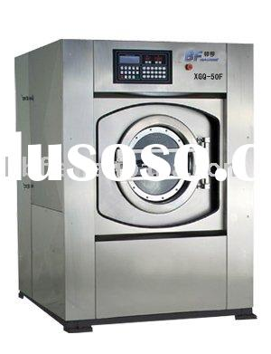 50kg industry washing machine used for hotel laundry
