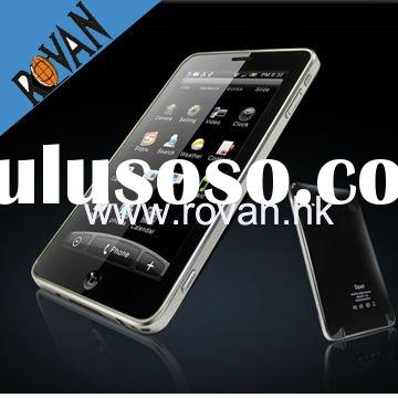 "5.0"" Touch screen GPS Navigation cell phones dual sim quad band wifi skype"