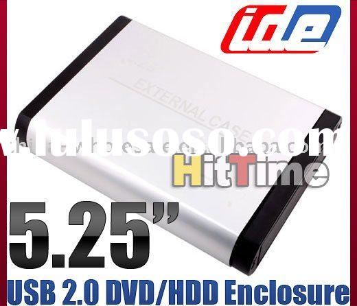"5.25"" External IDE USB 2.0 DVD/CD ROM HDD Drive Case"