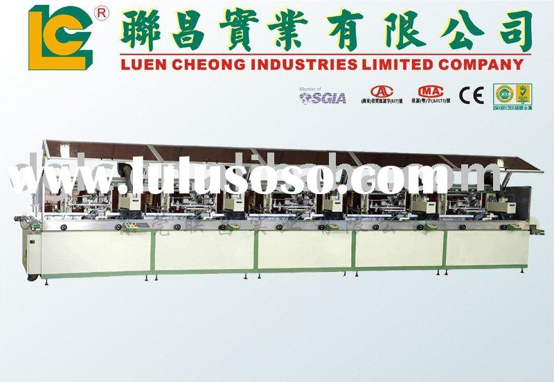 5 Color Auto Screen Printing Machine with IR or UV Curing System