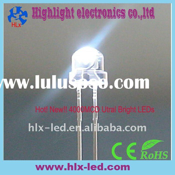 5mm super bright led 4000MCD