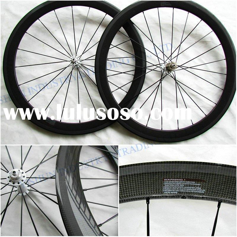700C road wheels, bicycle wheels, full Carbon Clincher 50mm road wheels