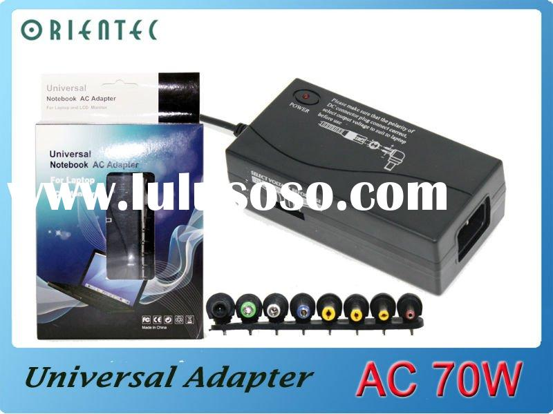 70W Universal AC Adapter For Laptop LCD Monitor
