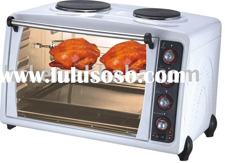 70 Liter mechanical convection Toaster Oven with two top stoves HTO70