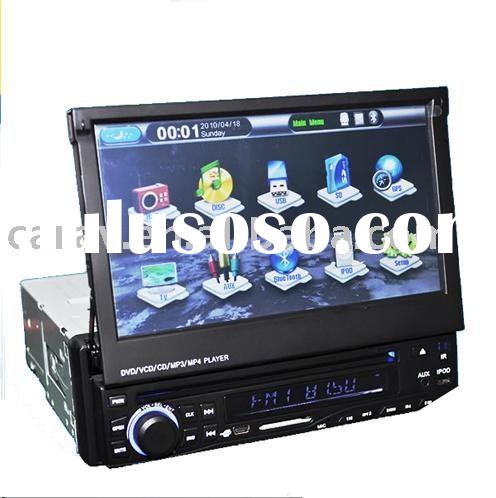 "7"" One Din Indash Motoriesd Car DVD Player with GPS/Bluetooth/RDS"